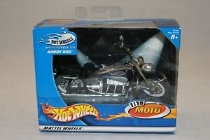 HOTWHEELS-HOT-WHEELS-moto-1-18-HANDY-HOG-boite-etat-neuf-DIE-CAST-METAL