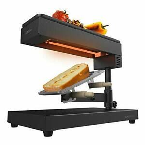 Raclette Four Traditionnel Cheese&Grill 600W Gril Acier Inox 2 Spatules