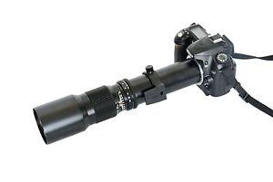 Telephoto-Lens-500mm-f-8-0-T-T2-Mount-for-Nikon-D4-D3S-D3X-D3-Df-D610-D600-D90