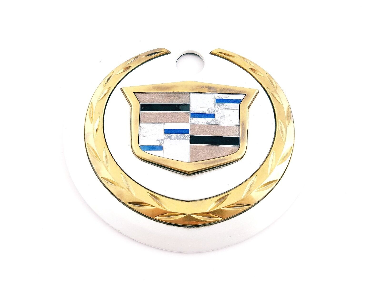 02 03 04 05 06 Cadillac Escalade Escalade Escalade Hinten Deckel Emblem Badge Logo Symbol Sign Oem ae9e6b