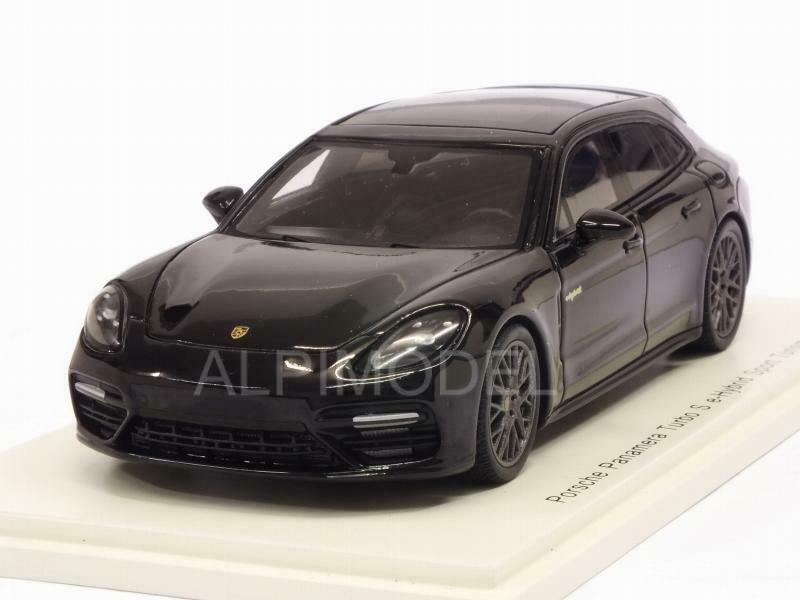 Porsche Panamera Turbo S E-Hybrid Sport Turismo 2018 nero 1 43 SPARK S7626