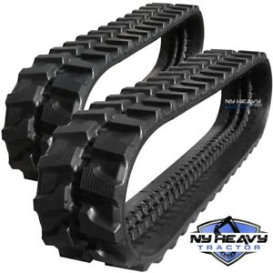 Details about TWO NY HEAVY RUBBER TRACKS FITS JCB 803PLUS 300X52 5X84 FREE  SHIPPING 803 PLUS