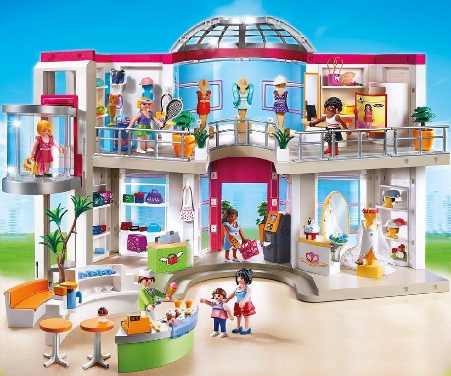Playmobil City Life - 5485 - Shoppingcenter inkl. 6333 Erweiterung - OVP