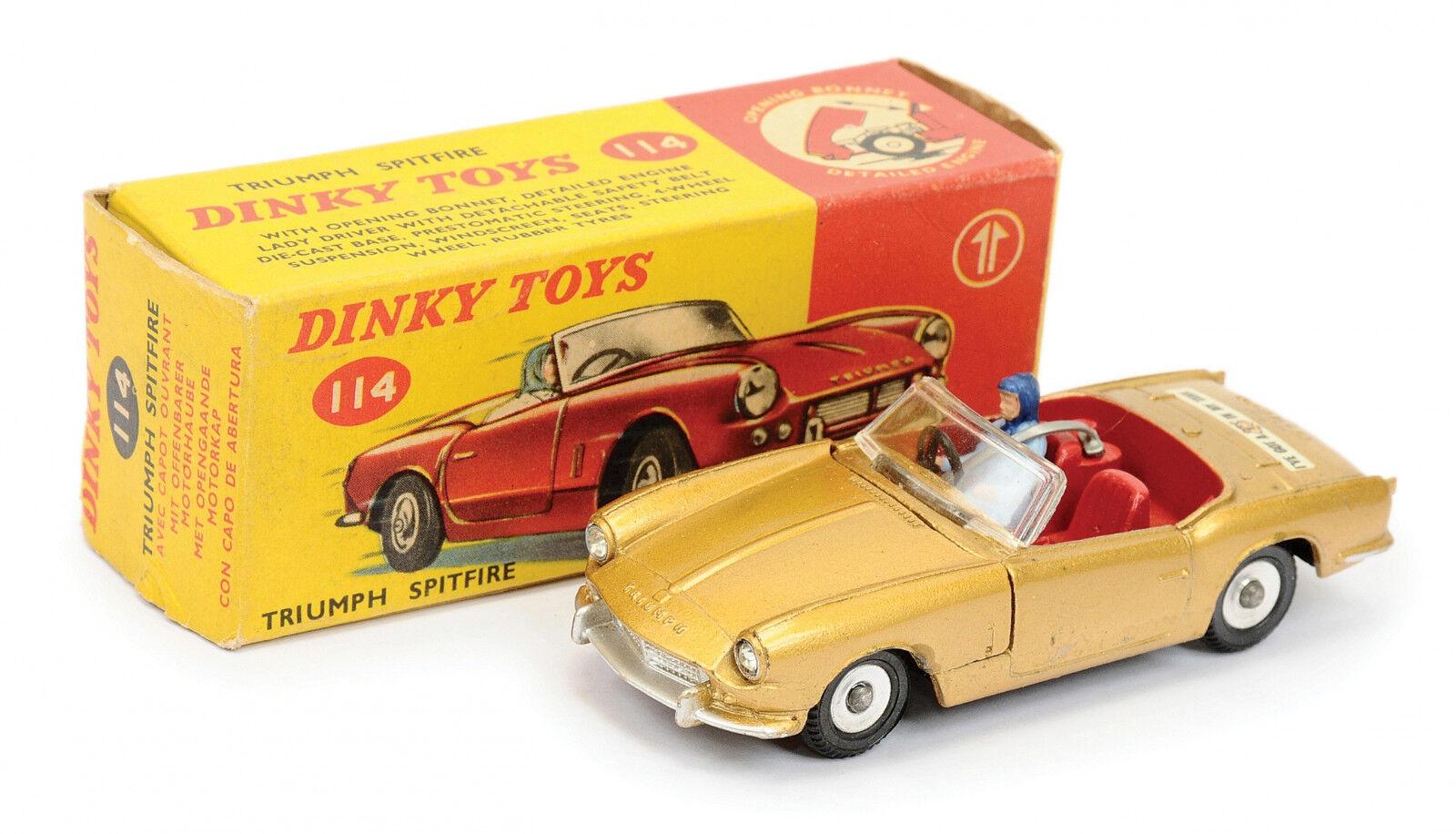 Ven a elegir tu propio estilo deportivo. Dinky Juguetes 114  Triumph Spitfire  1 43    embalaje original  1963  cómodo