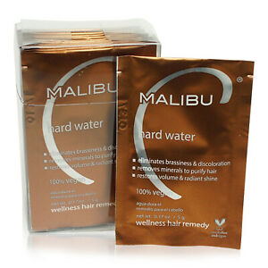 Malibu-C-Hard-Water-Weekly-Demineralizer-12-pk-New-in-Box-AUTHENTIC