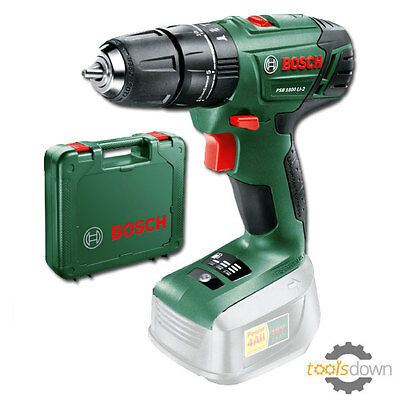 Bosch POWER4ALL PSB 1800 LI-2 18v Cordless Combi Drill *Drill Only* + Carry Case