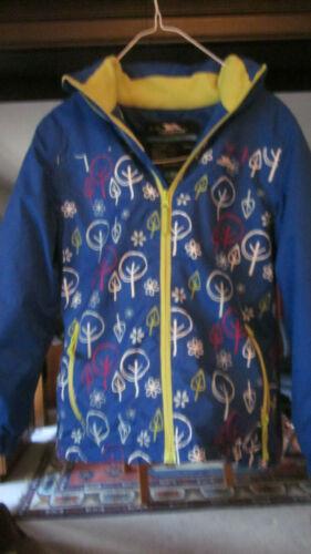 Kids Childrens Trespass TP50 Ski Jacket Age 7-8 Fleece Hood Waterproof Light use