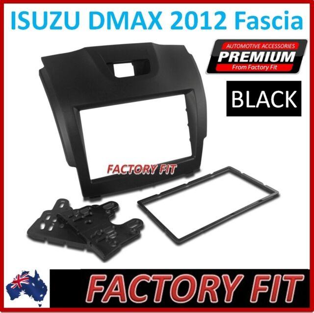 Double-Din Radio Fascia Facia Stereo Surround For Isuzu D-Max Holden Colorado