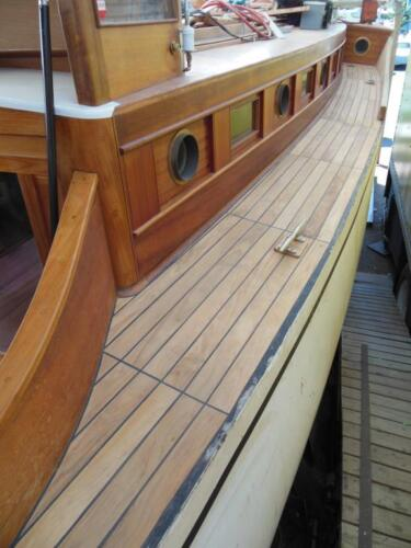 """60/"""" long TEAK WOOD Tongue /& Groove-100/% heartwood great for boats 40 square ft"""