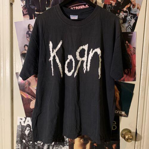 Vintage Black Korn Shirt XL