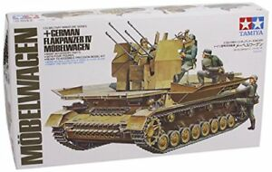 TAMIYA-1-35-German-Flakpanzer-IV-Mobel-Wagen-Model-Kit-NEW-from-Japan