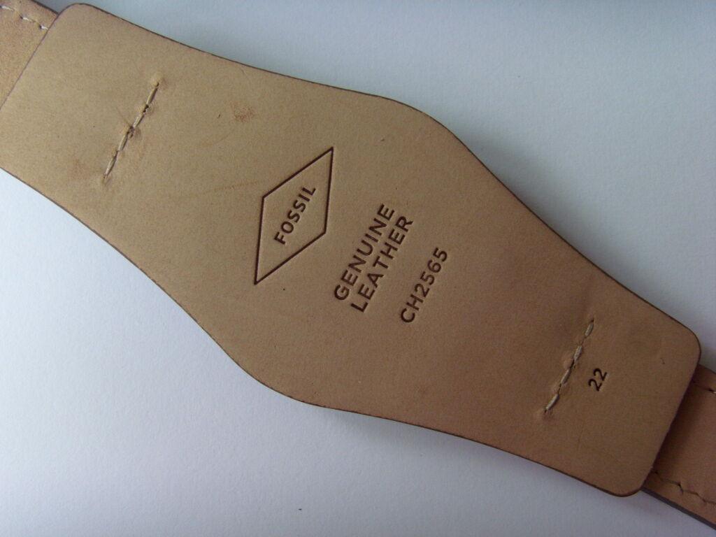 42aded7267f0 Fossil original repuesto pulsera Ch2565 Correa reloj con capa base ...