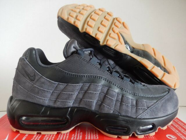 meet 12336 d0cee Nike Air Max 95 SE Mens Aj2018-002 Anthracite Black Gum Running Shoes Size  8.5