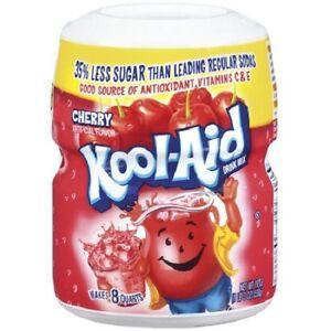 KOOL-AID-DRINK-MIX-19-oz-Jar-Grape-Strawberry-Mango-Cherry-PICK-1-FLAVOR