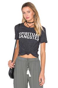 Spiritual Gangster Clothing Women/'s Vintage Black Choose Love Gym Tee Sz Medium