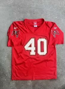 7509a110415 Image is loading Tampa-Bay-Buccaneers-Red-Mike-Alstott-Jersey-NFL-