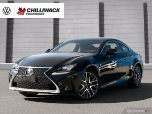 2018 Lexus RC 350 3.5L 6SPD AUTOMATIC   *ONE OWNER!*   AWD, ADAP