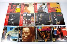 MILES DAVIS ~ JAPAN MINI LP CD x 12 ~ AUTHENTIC, VERY RARE, MASTER SOUND