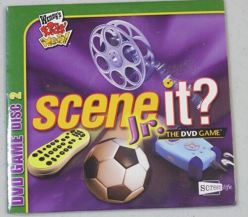 Scene It Jr Edition Dvd Hd Video Game For Sale Online Ebay