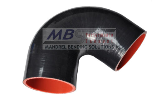 """SILICONE COUPLER 135 DEGREE 2.25/"""" BLACK Race 5 PLY HOSE INTAKE TURBO MBS"""