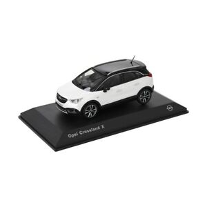 Opel-Crossland-X-Modellauto-1-43-Sammlermodell-Schnee-Weiss-OC11017