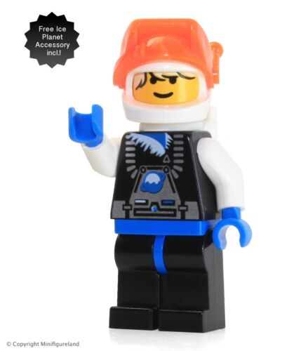 Ice Planet Blonde Guy LEGO Space MiniFigure Ice Planet 2002