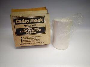 Vintage-NOS-Boxed-Radio-Shack-TRS-80-Computer-Line-Paper-16-034-400-039-26-1402