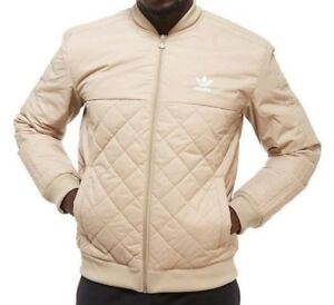 eef4607ca Details about RARE adidas Originals MEN S XL REG. FIT QUILTED SST BOMBER  JACKET LAST1