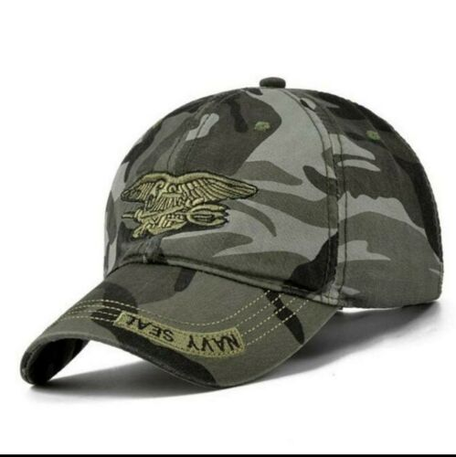 Baseball Cap High Quality Unisex Camouflage Navy Seal Tactical Snapback Hats