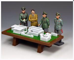 GéNéReuse Wh093 Ww2 Leader & Généraux Modèle Rommel Dietrich Atlantic Wall Set Comme Neuf In Box-afficher Le Titre D'origine