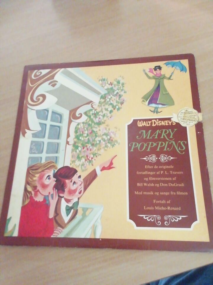 LP, Mary Poppins, Disney