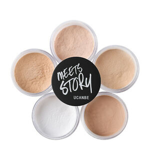 5-Color-Makeup-Face-Loose-Finishing-Powder-Translucent-Smooth-Setting-Foundation