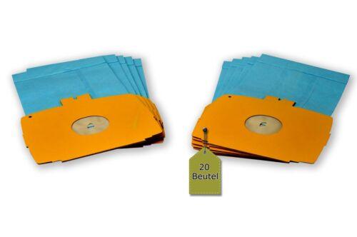 20 sacs pour aspirateuranthères convient pour ELECTROLUX D 728-730