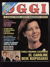 OGGI 8/1994 BEPPE GRILLO DAVID TOOLE MARADONA LUIGI TENCO LINDA EVANGELISTA