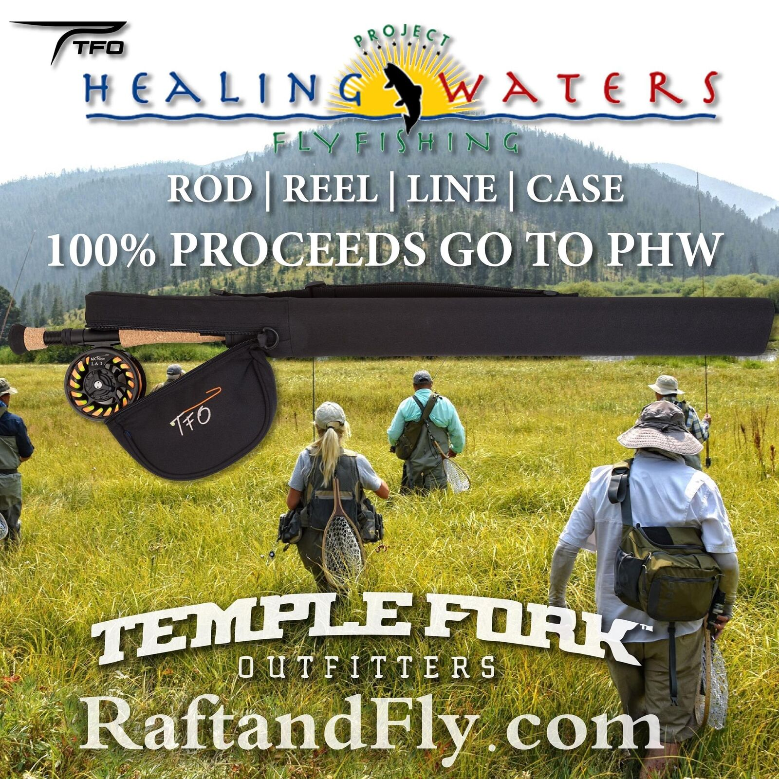TFO Benefit  Project Healing Water 5wt Kit  100% Donated to PHW