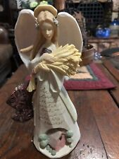 Foundations By Karen Hahn /'Lullaby Angel/' Figurine Now I Lay Me.. #4051325 NIB!