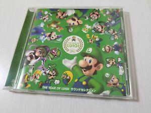 Club Nintendo The Year of Luigi Sound Selection CD + Obi Japan 0504A11