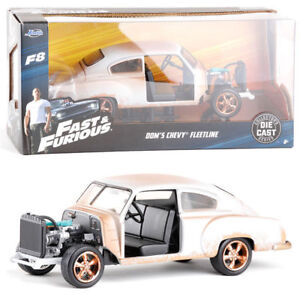 JADA-1-24-FAST-AND-FURIOUS-8-DOM-039-S-1951-CHEVROLET-FLEETLINE-DIECAST-VEHICLE-TOY