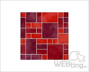 Adesivi a piastrelle immagini mosaico imitazione delle for Adesivi mattonelle
