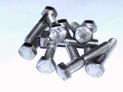 Acier inoxydable a4-70 Hexagonal Vis//Filetage Vis m6 x 30 mm DIN 931 10 St