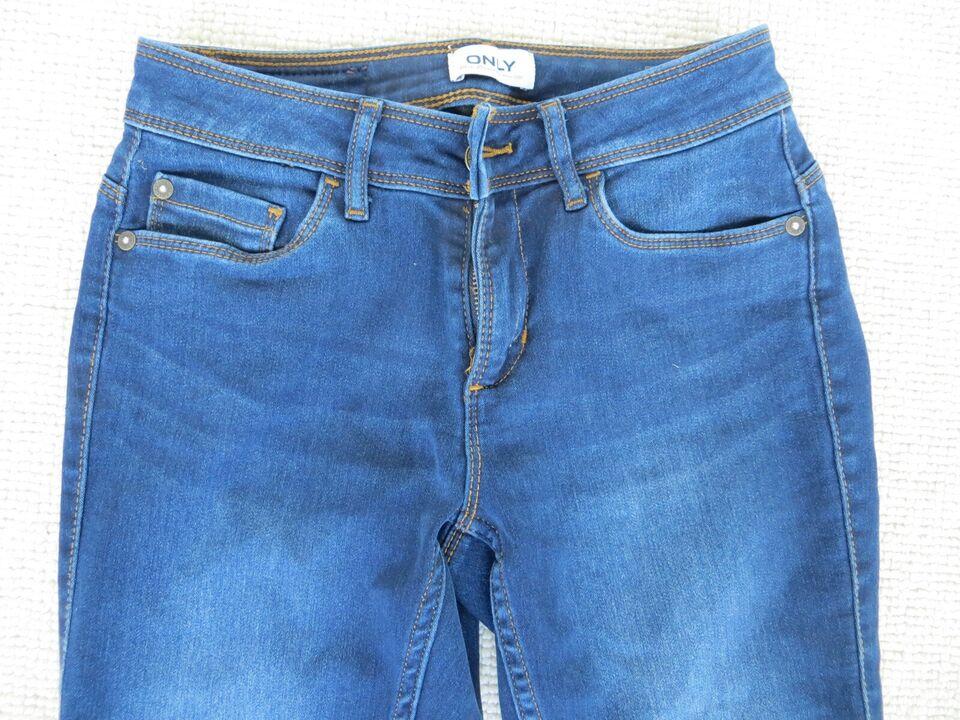 Bukser, lange denim bukser, Only
