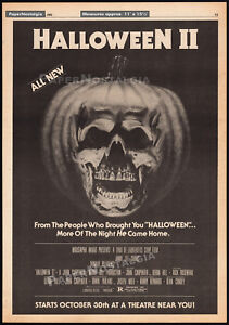 HALLOWEEN-II-Original-1981-Trade-AD-poster-034-Starts-Oct-30th-034-JOHN-CARPENTER
