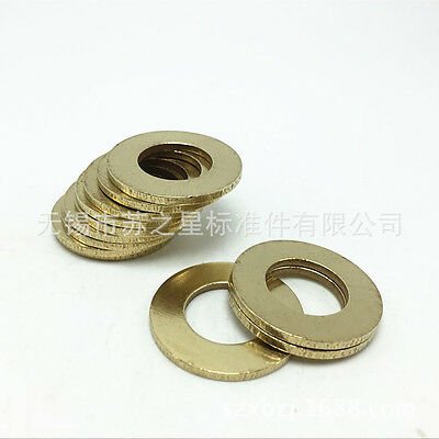 50pcs international QB brass Gaskets Washers spacer Seal Rings  M3-M10