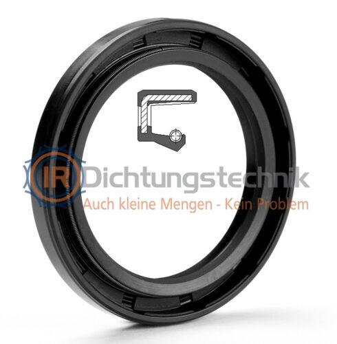 Radial-Wellendichtring DIN 3760 A 35,0 x 60,0 x 10,0 mm NBR 1 St.
