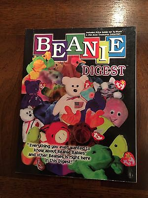b0128880288 1998 ~BEANIE DIGEST Ty Beanie Babies by Rosie Wells