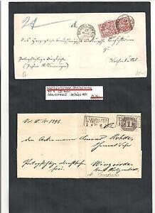 Norddeutscher-Bund-NDP-1869-70-Sammlung-seltene-Briefe-ex-MiNrn-16-D-4