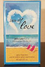 Philosophy Sea of Love  Fragrance Eau De Toilette Spray 2 oz New In Box Sealed