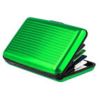 Alloy Business Holder Wallet Bank Credit Card Hard Case Waterproof RFID Blocking