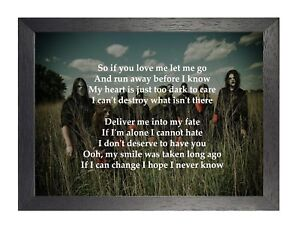 Slipknot so if you love me let me go lyrics