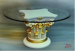 Griechischer Designer Couchtisch Wohnzimmertisch Tisch Glastisch ...